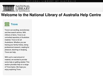help.nla.gov.au screenshot