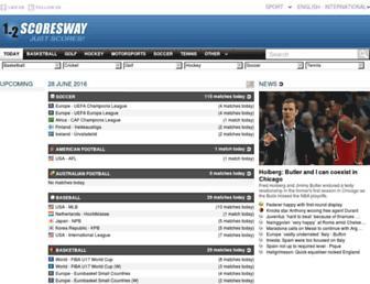 Thumbshot of Scoresway.com