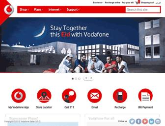 Thumbshot of Vodafone.qa