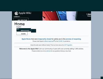 apple.fandom.com screenshot