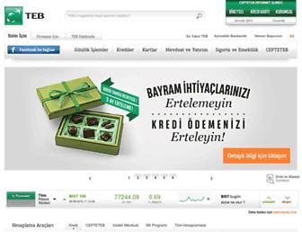 teb.com.tr screenshot