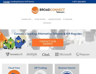 broadconnect.ca screenshot