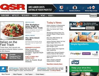 qsrmagazine.com screenshot