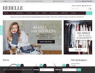 rebelle.com screenshot
