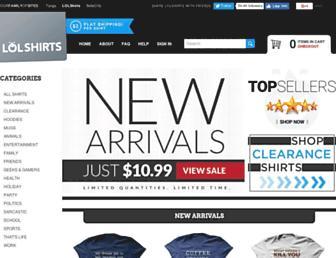 Thumbshot of Lolshirts.com