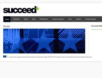 succeed-project.eu screenshot