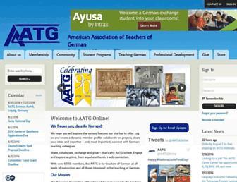 aatg.org screenshot