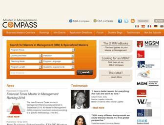 mim-compass.com screenshot