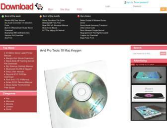 downloadthingsnow.com screenshot
