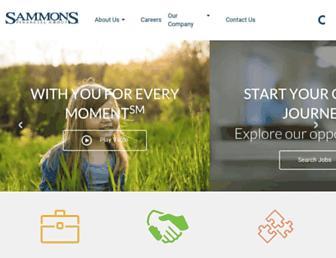 sammonsfinancialgroup.com screenshot