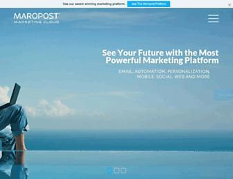 maropost.com screenshot