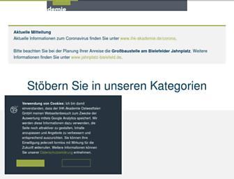 ihk-akademie.de screenshot