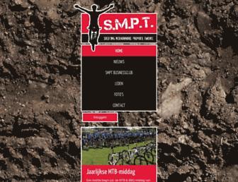 Main page screenshot of smpt.nl