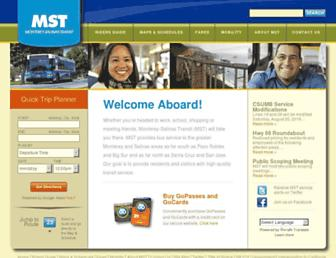 mst.org screenshot