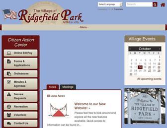 ridgefieldpark.org screenshot
