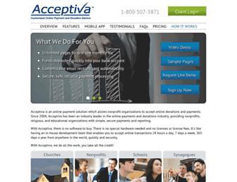Thumbshot of Acceptiva.com