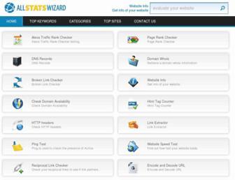 allstatswizard.com screenshot