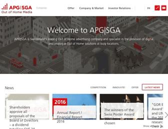 apgsga.ch screenshot