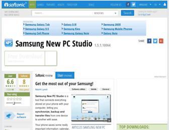 samsung-new-pc-studio.en.softonic.com screenshot