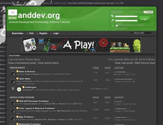 Thumbshot of Anddev.org