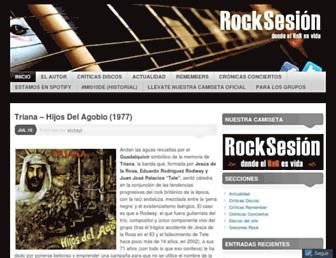 rocksesion.com screenshot