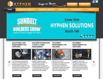hyphensolutions.com screenshot
