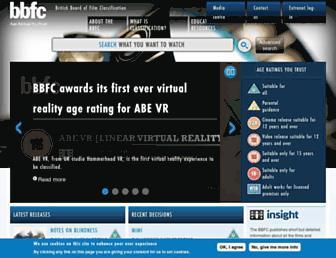 Thumbshot of Bbfc.co.uk
