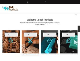 baliproducts.com screenshot