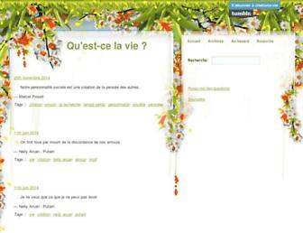 citations-vie.tumblr.com screenshot
