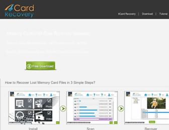 4cardrecovery.com screenshot