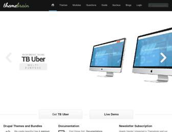 Thumbshot of Themebrain.com