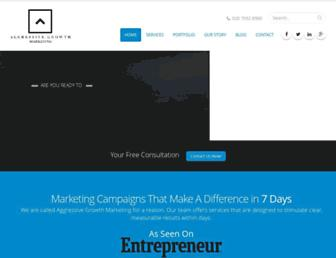 aggressivegrowthmarketing.com screenshot