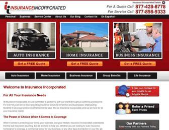 insuranceinc.com screenshot