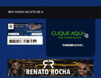 portaldoarrocha.com.br screenshot