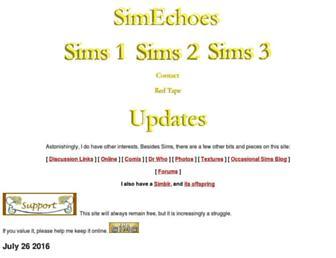 simechoes.org screenshot