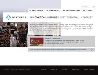 fortress.com screenshot