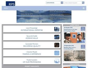 rpsgroup.com screenshot