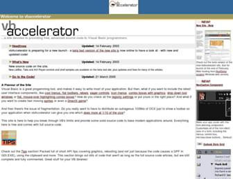 vbaccelerator.com screenshot