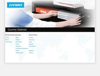 dymo.com screenshot