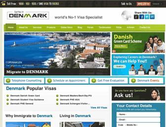 Thumbshot of Settleindenmark.com