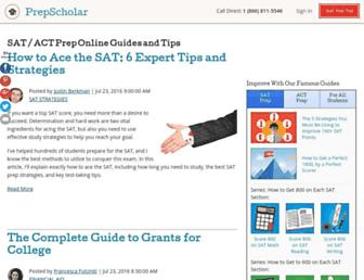 blog.prepscholar.com screenshot