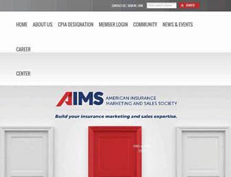 aimssociety.org screenshot