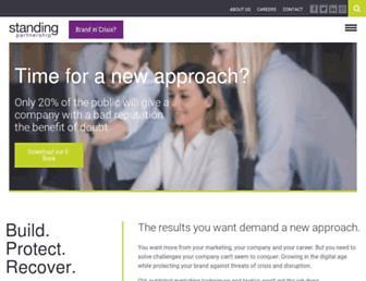 standingpartnership.com screenshot