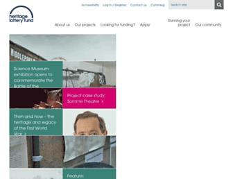 Thumbshot of Hlf.org.uk