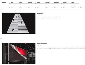 ryojiikeda.com screenshot