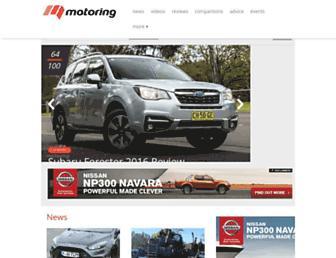 motoring.com.au screenshot