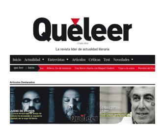 que-leer.com screenshot