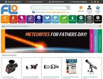 firstlightoptics.com screenshot