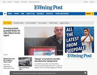 Main page screenshot of lep.co.uk