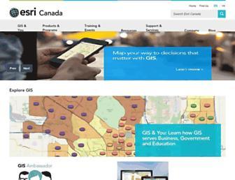 esri.ca screenshot